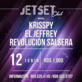 Krispy, El Jeffrey y Revolución Salsera