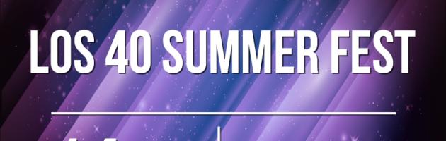 Disfruta de Los 40 Summer Fest