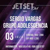 Sergio Vargas y Grupo Adolescencia Lunes 3 de julio 2017