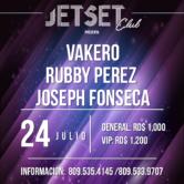 Rubby Perez, Vakeró y Joseph Fonseca